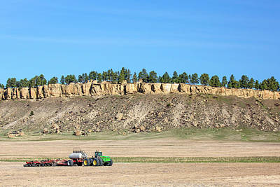 Rimrock Seeder Art Print by Todd Klassy