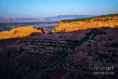 Photograph - Rimrock Sundown by Jon Burch Photography