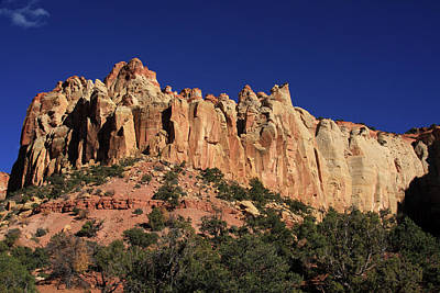 Photograph - Rimrocks, State Of Utah by Aidan Moran