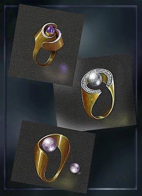 Jewelry - Ring  Designs by Hartmut Jager