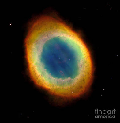 Ring Nebula, M57, Ngc 6720 Art Print