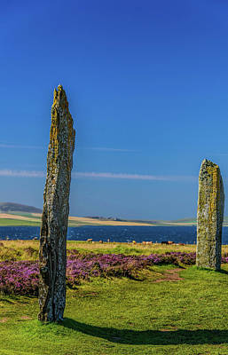 Firefighter Patents Royalty Free Images - Ring of Brodgar #5 Royalty-Free Image by Elvis Vaughn
