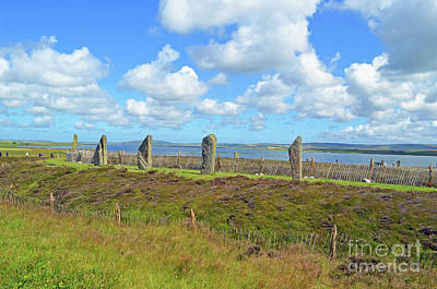 Digital Art - Ring Of Brodgar Orkney by Eva Kaufman