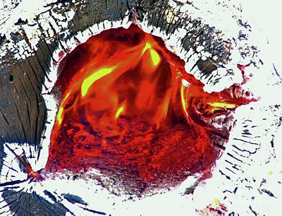 Photograph - Ring Of Fire by D Hackett