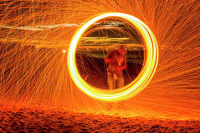 Photograph - Ring Of Fire by Travis Rogers