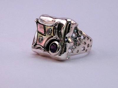 Jewelry - Ring Owl by Mikhail Savchenko