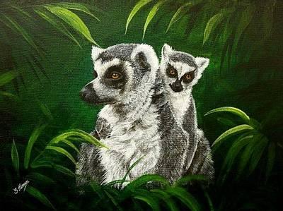 Ring Tailed Lemurs Original