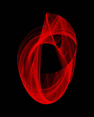 Digital Art - Ring Unraveling I by Robert Krawczyk