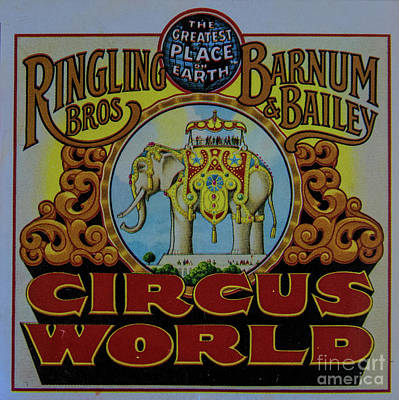 Photograph - Ringling Brothers by Steven Parker