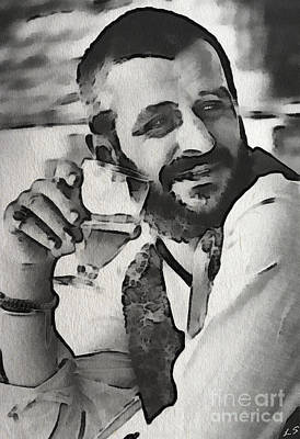 Painting - Ringo by Sergey Lukashin