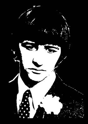 Richard Starkey Mixed Media - Ringo Starr 2 by Otis Porritt