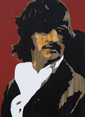 Ringo Painting - Ringo Starr by Brad Jensen