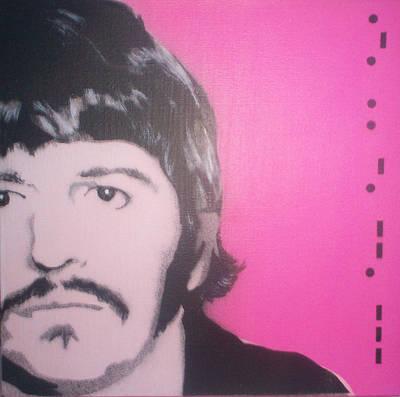 Ringo Starr Print by Gary Hogben