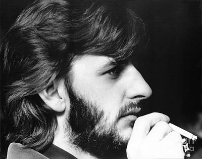 Photograph - Ringo Starr In 1972 by Chris Walter