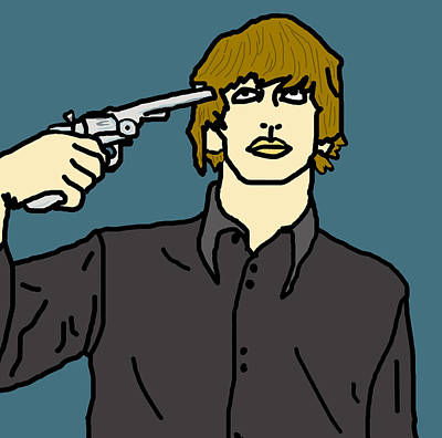 Ringo Starr Art Print by Jera Sky