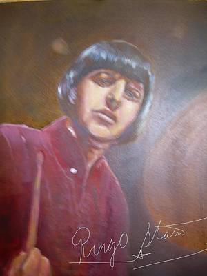 Ringo Starr Print by Leland Castro
