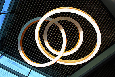 Photograph - Rings Abstract by Kristin Elmquist