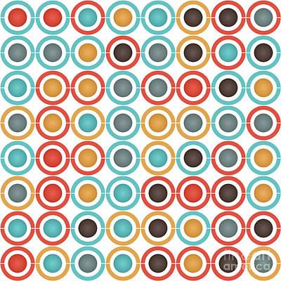 Algorithmic Digital Art - Rings And Balls by Gaspar Avila