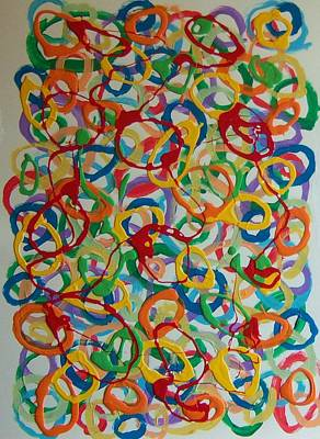 Painting - Rings by Helene Henderson