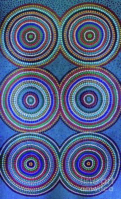 Painting - Rings  by Mariusz Czajkowski