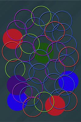 Rings Of Colors Art Print