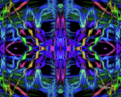 Photograph - Rings Of Fire Dopamine #156 by Barbara Tristan
