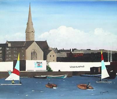 Ringsend Surfdock Original by Tony Gunning
