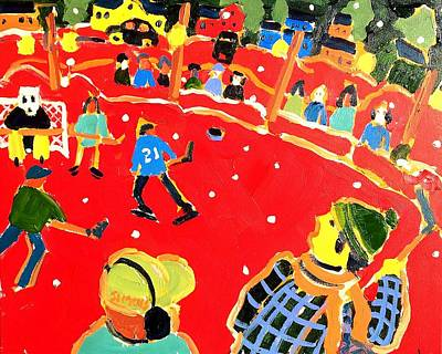Painting - Rink by Brian Simons