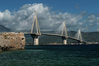 Photograph - Rio-andirio Hanging Bridge by Jaroslaw Blaminsky