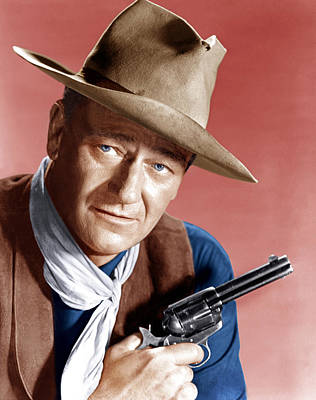 1950s Movies Photograph - Rio Bravo, John Wayne, 1959 by Everett