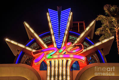 Photograph - Rio Casino Small Neon Sign by Aloha Art