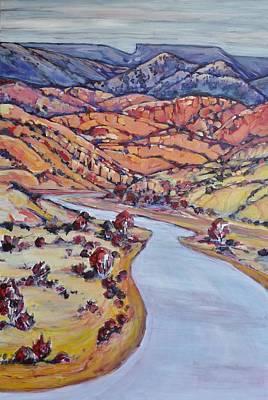 Chama River Painting - Rio Chama Beckons by Alita VanVliet