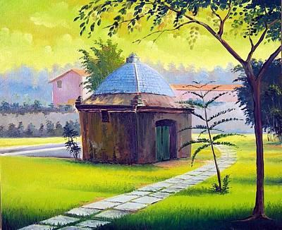 Painting - Rio De Janeiro - Fonte Do Itajuru - Cabo Frio -  Brasil - Green Day Series  by Leomariano artist BRASIL