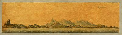 Photograph - Rio De Janeiro 1808 by Andrew Fare