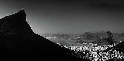 Photograph - Rio De Janeiro, Brazil Panorama by Alexandre Rotenberg