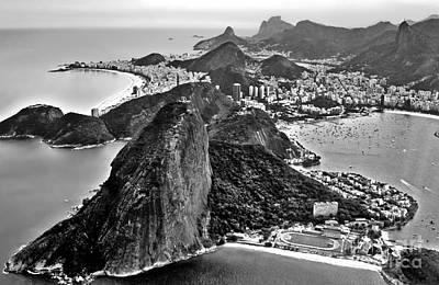 Photograph - Rio De Janeiro - Sugar Loaf, Corcovado And Baia De Guanabara by Carlos Alkmin