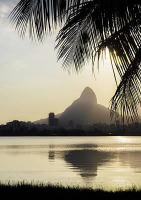 Photograph - Rio De Janeiro, Brazil Sunset by Alexandre Rotenberg