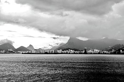 Photograph - Rio De Janeiro In Black And White by Kirsten Giving