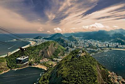 Photograph - Rio De Janeiro Overlook by Kim Wilson