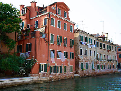 Photograph - Rio Dell Arsenale by David Beebe