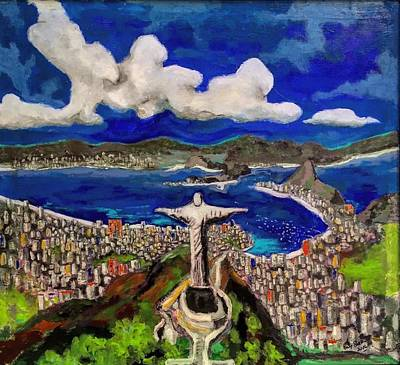 Painting - Rio by Dilip Sheth