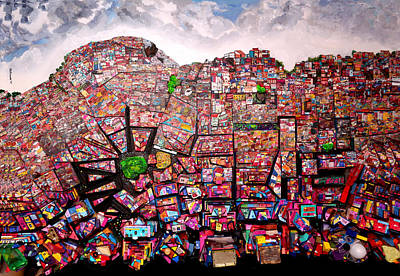 Painting - Rio Favelas by Robert Handler