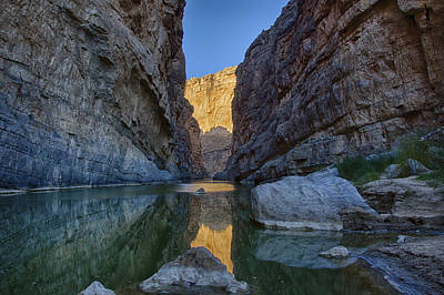 Rio Grand - Big Bend Art Print