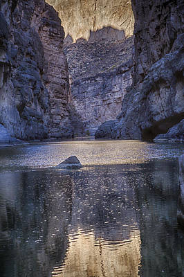 Rio Grand, Santa Elena Canyon Texas Art Print