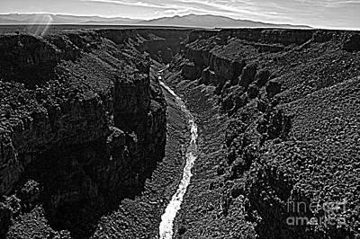 Photograph - Rio Grande Gorge by Anjanette Douglas