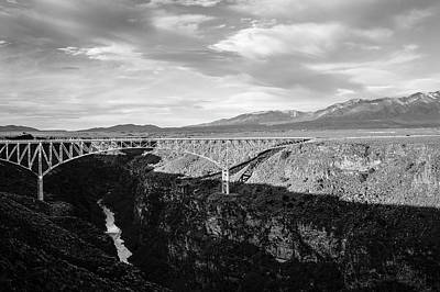 Photograph - Rio Grande Gorge Birdge by Marilyn Hunt