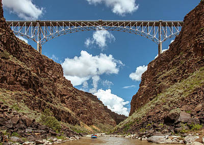 Rio Grande Gorge Bridge Art Print