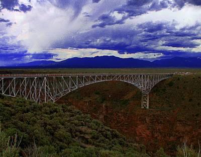 Rio Grande Gorge Bridge Art Print by Neil McCarver