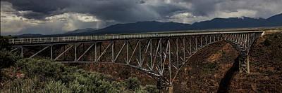 Photograph - Rio Grande Gorge Bridge by Steve Gravano