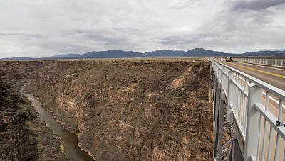Photograph - Rio Grande Gorge Bridge by Tom Cochran
